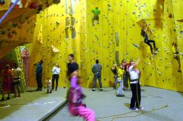 Bielsko-Biała Atrakcja Ścianka wspinaczkowa Centrum Wspinaczkowe Totem