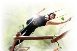 Ochaby Wielkie Atrakcja park linowy Dream Park